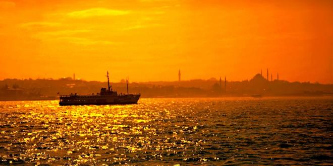 Istanbul: der Bosporus