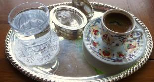 Türkischer Mocca-Kaffee und Baklava