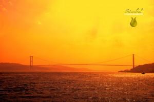 Brücke über dem Bosporus
