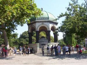 Sultanahmet Platz: deutscher Brunnen