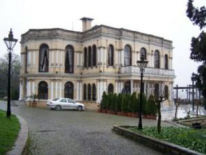 Malta Kiosk (Kösk) im Yildiz Palast Garten