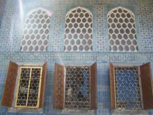 Topkapi Palast Harem Fenster