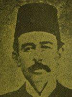 Porträt Santuri Ethem Efendi