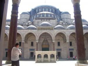 """""""Die prächtige"""" Süleymaniye Moschee"""