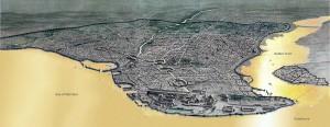 Theodosianische Stadtmauer