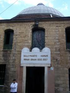 Eingang Süleymaniye Hamami