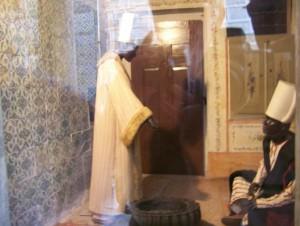 Die schwarzen Eunuchen bewachten den Harem - sie waren gut ausgebildete Kämpfer