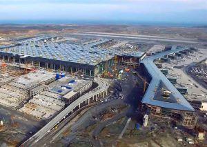 3. Istanbul Flughafen zu 90 % fertiggestellt