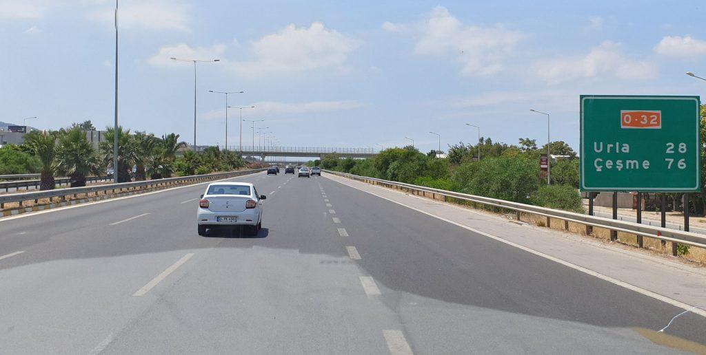 Autobahn Izmir Istanbul