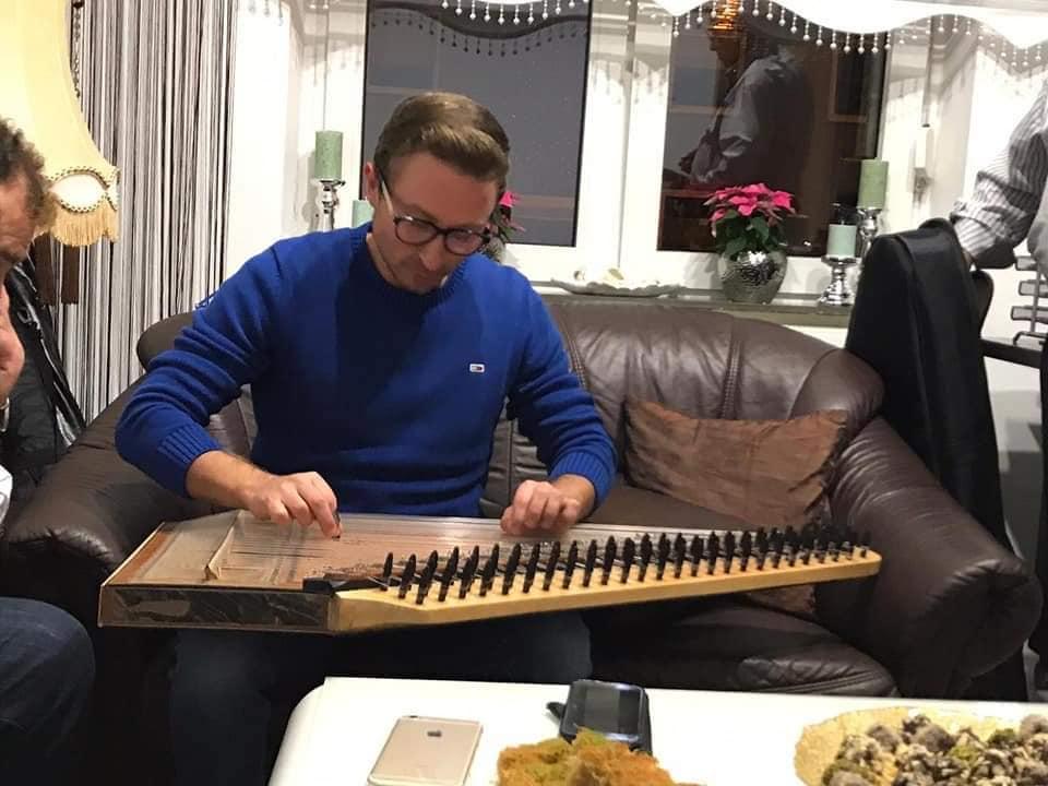 Kanun, Qanun. Magisches Musikinstrument in der türkisch/orientalischen Musik