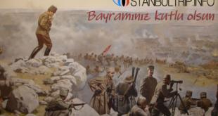 Zafer Bayramı, der Tag des Sieges ist ein türkischer Nationalfeiertag