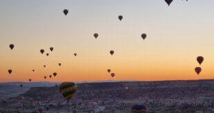 Kappadokien: Heißluftballonfahrt