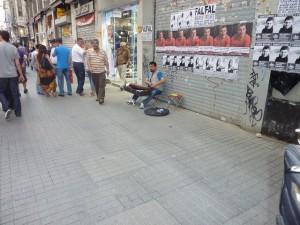 Strassenmusiker Türkei