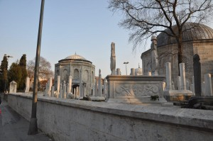 Eyup Sultan Friedhof tomb