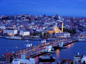 Istanbul_view of Yeni_camii