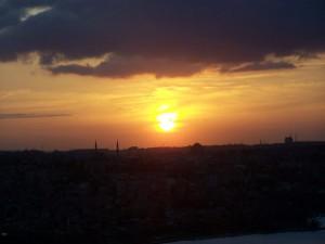 Sonnenuntergang Galataturm Istanbul