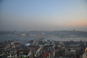 Suleymaniye und Eminonu Nachts