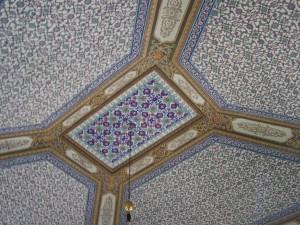 Topkapi Palast Decke