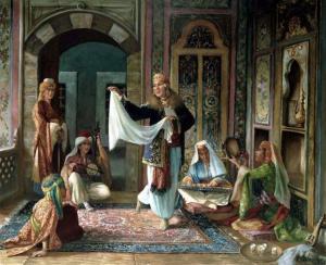 Tanz und Gesang im Harem