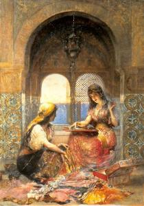 Türkisches Mädchen im Haram